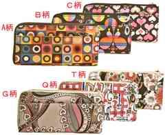 新品☆彡人気のプリンタ柄の長財布☆彡C柄