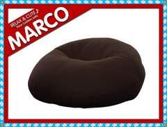やわらかクッションソファー/MARCO/1人用コーヒービーン