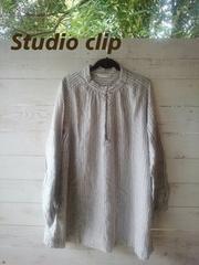 《Studio clip》大きいサイズ◎秋冬/シャツチュニック♪大人気