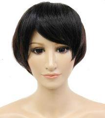 【即決】Wigs2you☆W-704A★前髪ウィッグ☆ブラック*黒