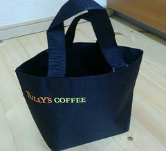 タリーズ コーヒー ミニトートバッグ ランチバック 新品未使用