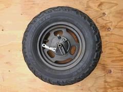 ズーマー フロントホイール ブレーキ タイヤ付 AF58