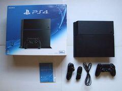 PS4 本体 500GB CUH-1200A ブラック 動作確認済Used
