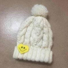 LDS スマイリー ニット帽 送料200円