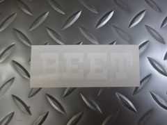 BEETステッカー白★送料無料★CB250NCBR400FCB400F