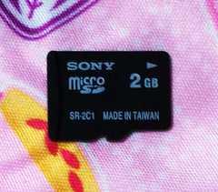 中古☆SONY マイクロSD2GB microSD2GB おまけ付