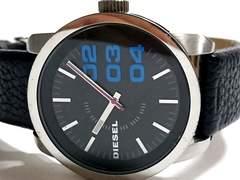 良品 1スタ★DIESEL ディーゼル 大型メンズ腕時計 DZ-1514