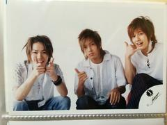 山下智久亀梨和也赤西仁/ジャニーズJr.ロゴ公式写真
