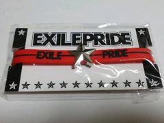 EXILE PRIDE 2013 ゴムブレス レッド