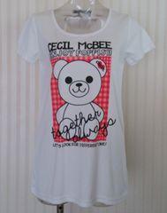 セシルマクビー★クマさん Tシャツ