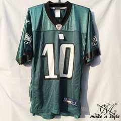 NFL フットボールシャツ Eagles JACKSON グリーン REEBOK XXL685