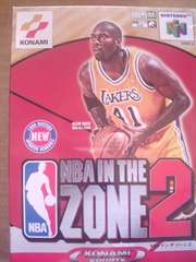 N64 ソフト NBA IN THE ZONE 2 未使用品