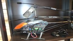 全長約70�pジャイロ搭載ラジコンヘリコプター カメラ付き LEDで光る