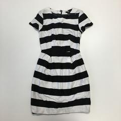 リナオク  H&M エイチアンドエム ボーダーワンピース 黒×白