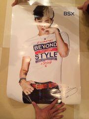 bigbang g-dragon bsxポスター 非売品 新品未使用 美品