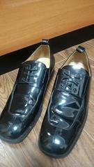 《abahouse》メンズ靴*エナメルフォーマル!!結婚式にも