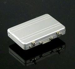 アルミアタッシュケース 型 名刺入れ カードケース