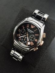 エンポリオ・アルマーニ 腕時計 セラミカ AR1410 ブラック 新品!