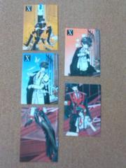 ●X/CLAMP/カード5枚