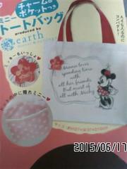 定形外込*Disneyコラボ*ミニーマウス&ロゴプリントトートバッグ
