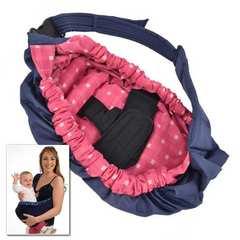 ベビースリング ベビーキャリー 赤ちゃん 抱っこひも ピンク