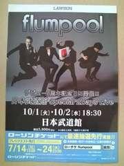 「flumpool 日本武道館 Special 2Days Live」ライブチラシ5枚