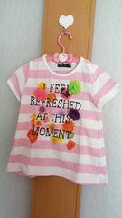 ムージョン購入☆ANIMALKIDのTシャツ☆size95
