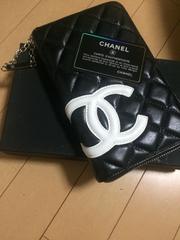 ☆CHANEL 長財布 人気のブラック