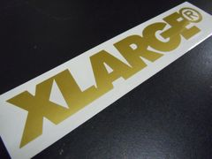 XLARGE エクストララージ ステッカー 25cm