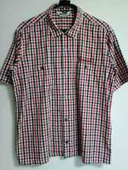 TENDERLOIN T-GINGHAM SHT ギンガムシャツ テンダーロイン 赤×黒 半袖
