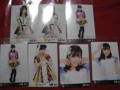 限定SKE48 7枚セット 公式生写真 加藤智子 非売品 未使用