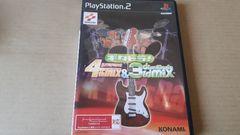PS2☆ギタドラ!☆ギターフリークス4thmix&ドラムマニア3rdmix収録♪KONAMI。