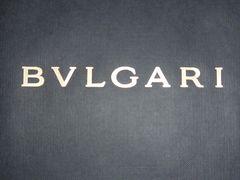 ブルガリBVLGARIショップバッグブランド紙袋ロゴ中サイズ