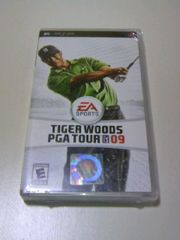 即決■新品PSPタイガーウッズPGATOUR09海外版■スポーツGOLFゴルフツアーゲーム
