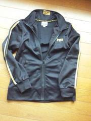 PLAYBOY 黒 ジャージ M(150) プレボ N2m