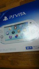 即決PlayStation VitaWi-FiモデルライトブルーホワイトPCH-2000ZA14