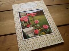 処分大特価◆アメリカヴィンテージ グリーティングカード/薔薇の写真 花[GR#29]