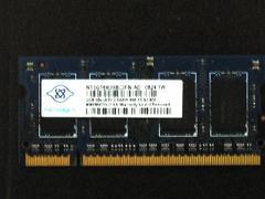★メモリ ナンヤ PC2-6400 1GB