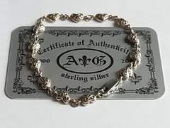 A&G k14k 金 ゴールド ブレスレット ハート ギャランティー