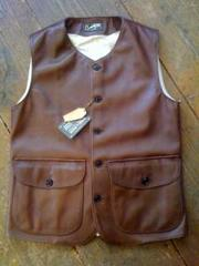 The Superior Labor/Horsehide Vest/�A�i�N��