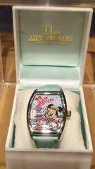 送料無 ディズニーTDS11周年 ロゴ ウォッチ 時計 ミッキー ウッディ トイストーリーマニア
