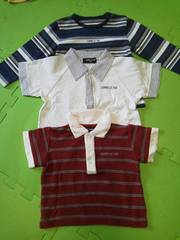 コムサイズム3点まとめ売り80サイズ長袖半袖Tシャツポロシャツ