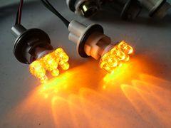 ラパン.MCワゴンR用 オレンジ6連LEDサイドウインカー球2個set即決