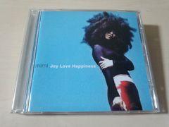 mimi CD「ジョイ・ラヴ・ハピネスJOY LOVE HAPPINESS」●