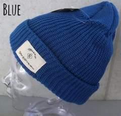 帽子 プチプラ サマーニット コットン ワッペン ニット帽