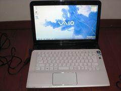 SONY VAIO SVE14119FJW Pentium/4G/640G/14型液晶/Windows7
