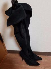 ESPERANZA★ニーハイブーツ★黒Sサイズ