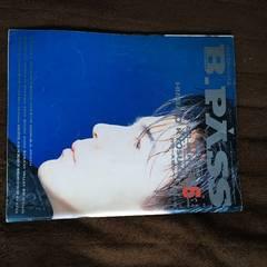 1990 �X������ �\�� B PASS BOOWY ���� �p�[�\�i���W�[�U�X