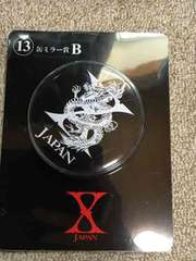 X JAPANくじ 缶ミラーB賞