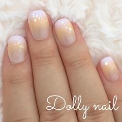 みぢょ!チビ爪ベリショHalloweenハロウィンカラー2色ゆめかわいいグラデーション